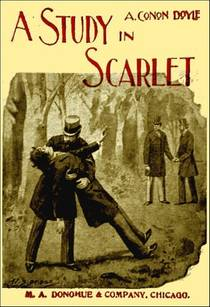 Picture of a book: A Study In Scarlet