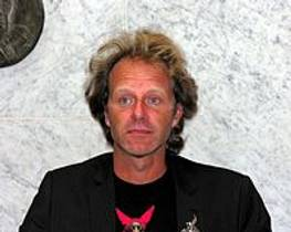Picture of an author: John Ajvide Lindqvist