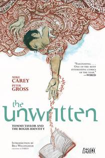 Picture of a book: The Unwritten, Vol. 1: Tommy Taylor And The Bogus Identity