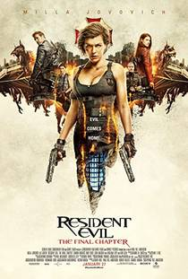 Picture of a movie: Resident Evil: The Final Chapter