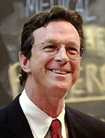 Picture of an author: Michael Crichton