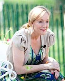 Picture of an author: J.K. Rowling