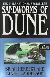 Picture of a book: Sandworms Of Dune