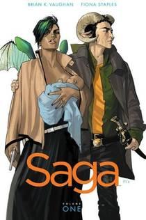Picture of a book: Saga, Vol. 1
