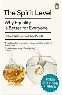 Picture of a book: The Spirit Level: Why Equality Is Better For Everyone