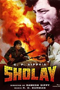 Picture of a movie: Sholay