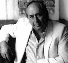 Picture of an author: J.G. Ballard