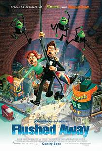 Picture of a movie: Flushed Away
