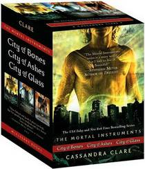 Picture of a book: The Mortal Instruments Boxed Set: City Of Bones; City Of Ashes; City Of Glass