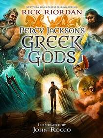 Picture of a book: Percy Jackson's Greek Gods