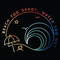 Picture of a podcast: Beach Too Sandy, Water Too Wet