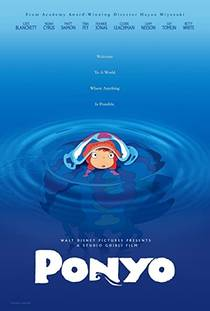 Picture of a movie: Ponyo On The Cliff By The Sea