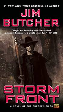 Picture of a book: Storm Front