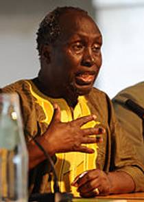 Picture of an author: Ngũgĩ Wa Thiong'o