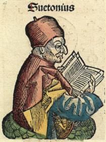 Picture of an author: Suetonius