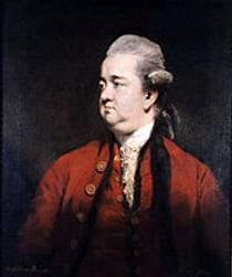 Picture of an author: Edward Gibbon