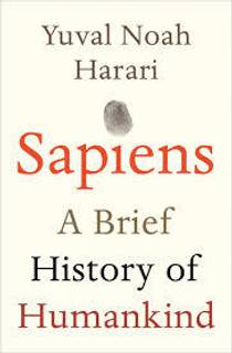Picture of a book: Sapiens: A Brief History Of Humankind