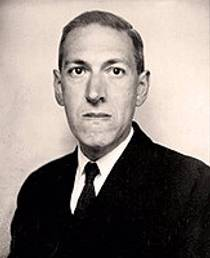 Picture of an author: H.P. Lovecraft