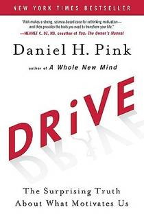 Picture of a book: Drive: The Surprising Truth About What Motivates Us