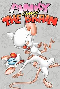 Picture of a TV show: Pinky And The Brain