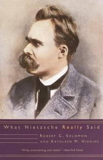 Picture of a book: What Nietzsche Really Said