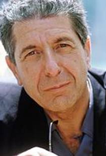 Picture of an author: Leonard Cohen