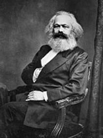 Picture of an author: Karl Marx