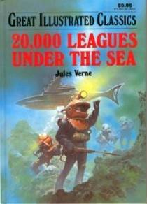 Picture of a book: 20,000 Leagues Under The Sea