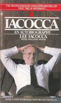 Picture of a book: Iacocca: An Autobiography