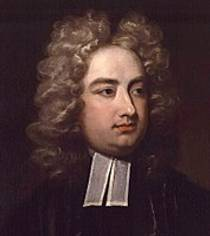 Picture of an author: Jonathan Swift