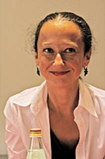 Picture of an author: Muriel Barbery