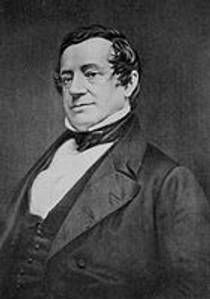 Picture of an author: Washington Irving