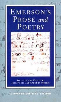 Picture of a book: Emerson's Prose and Poetry