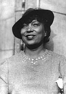 Picture of an author: Zora Neale Hurston