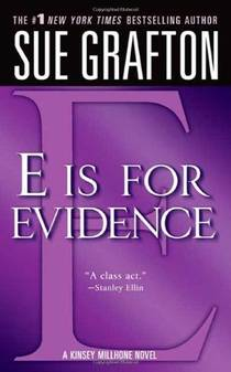 Picture of a book: E is for Evidence