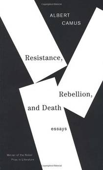 Picture of a book: Resistance, Rebellion And Death: Essays