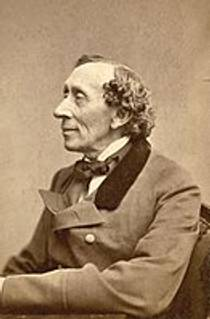 Picture of an author: Hans Christian Andersen