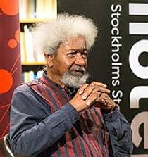 Picture of an author: Wole Soyinka