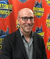 Picture of an author: Brian K. Vaughan