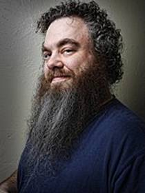 Picture of an author: Patrick Rothfuss