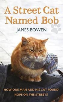 Picture of a book: A Street Cat Named Bob: How One Man And His Cat Found Hope On The Streets