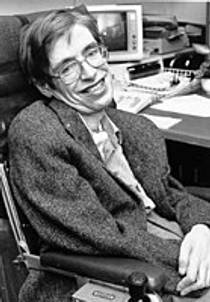 Picture of an author: Stephen Hawking