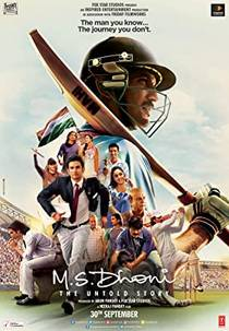 Picture of a movie: M.S. Dhoni: The Untold Story