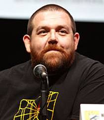 Picture of an author: Nick Frost