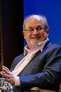 Picture of an author: Salman Rushdie