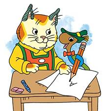 Picture of a TV show: The Busy World Of Richard Scarry