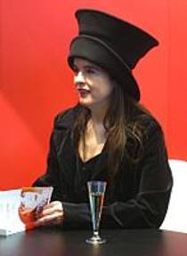 Picture of an author: Amélie Nothomb