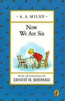 Picture of a book: Now We Are Six