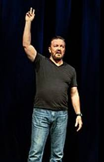 Picture of an author: Ricky Gervais