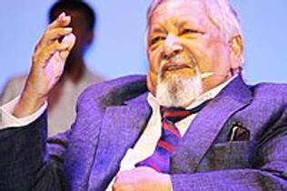 Picture of an author: V.S. Naipaul